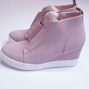 🌷GORGEOUS🌷Zoey Wedge Sneaker Blush